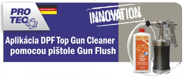 DPF GUN FLUSH